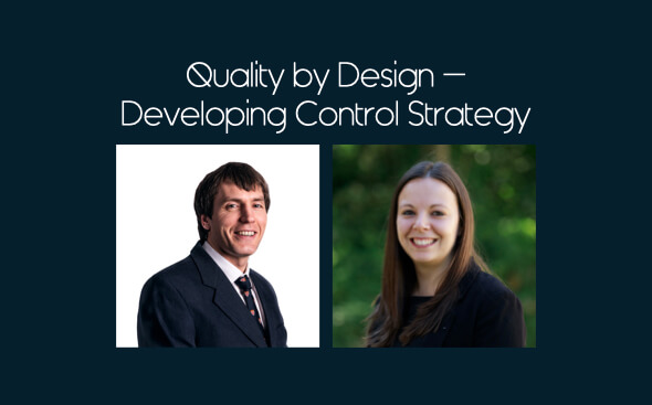 Quality by Design Developing Control Strategy