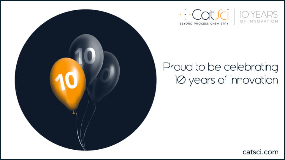 CatSci celebrates its 10th Anniversary with the launch of brand new website
